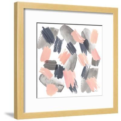 Grey Pink Mist II-Farida Zaman-Framed Art Print