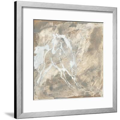 White Horse I-Chris Paschke-Framed Art Print