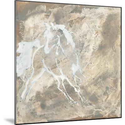White Horse I-Chris Paschke-Mounted Art Print