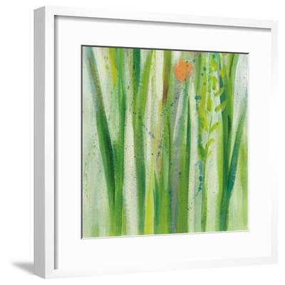 Longstem Bouquet I Square III-Silvia Vassileva-Framed Art Print