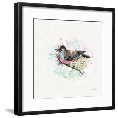 Thoughtful Wings IV-Katie Pertiet-Framed Art Print