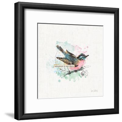 Thoughtful Wings III-Katie Pertiet-Framed Art Print