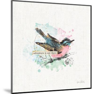 Thoughtful Wings III-Katie Pertiet-Mounted Art Print