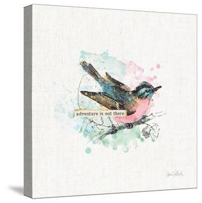 Thoughtful Wings III-Katie Pertiet-Stretched Canvas Print