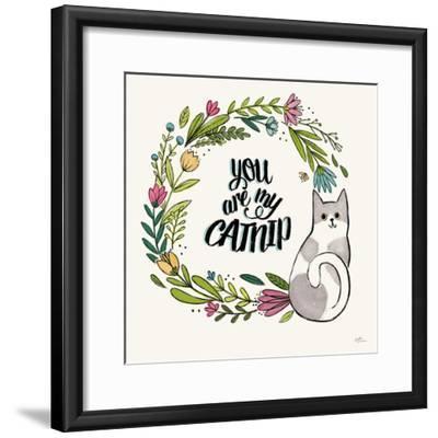 Purrfect Garden VI-Janelle Penner-Framed Art Print