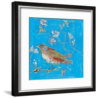 Blue Bird-Kellie Day-Framed Art Print