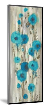 Roadside Flowers II Blue Crop-Silvia Vassileva-Mounted Art Print