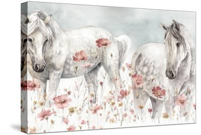 Wild Horses III-Lisa Audit-Stretched Canvas Print
