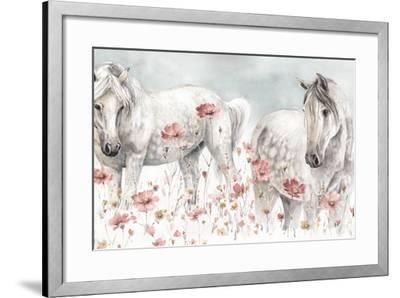 Wild Horses III-Lisa Audit-Framed Art Print