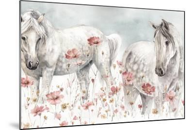 Wild Horses III-Lisa Audit-Mounted Art Print
