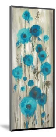 Roadside Flowers I Blue Crop-Silvia Vassileva-Mounted Art Print