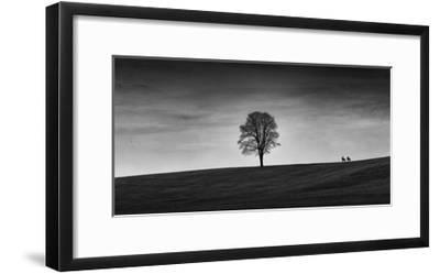 In the Distance-Aledanda-Framed Art Print