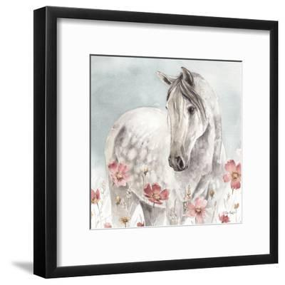 Wild Horses IV-Lisa Audit-Framed Art Print