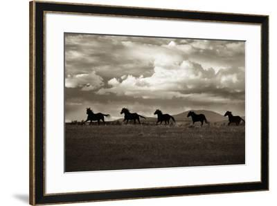 Racing the Clouds-Lisa Dearing-Framed Photographic Print