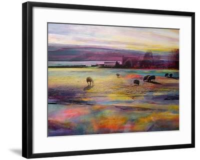 Balmy Summers Evening-Kate Boyce-Framed Art Print