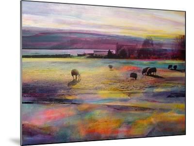 Balmy Summers Evening-Kate Boyce-Mounted Art Print