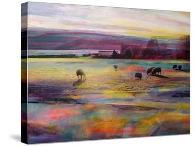 Balmy Summers Evening-Kate Boyce-Stretched Canvas Print