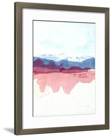 Geode Mountain-Jan Sullivan Fowler-Framed Art Print