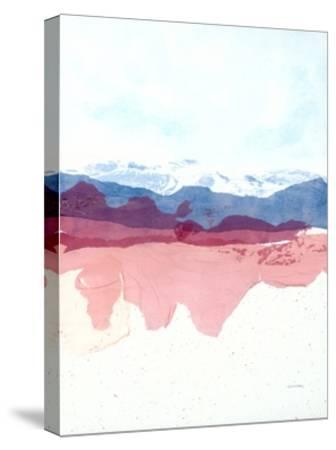 Geode Mountain-Jan Sullivan Fowler-Stretched Canvas Print