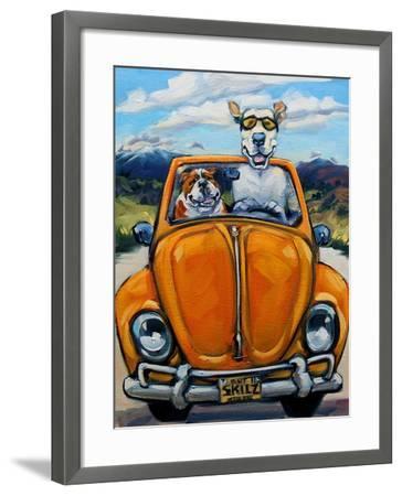 Got Skills Will Travel-Connie R. Townsend-Framed Art Print