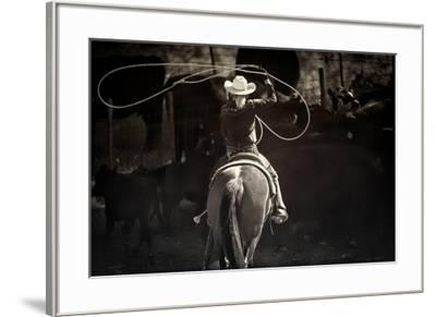American Cowgirl-Lisa Dearing-Framed Photographic Print