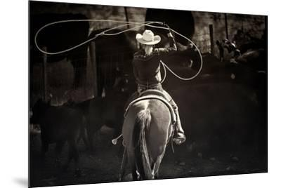 American Cowgirl-Lisa Dearing-Mounted Photographic Print