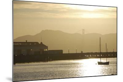 Sunset in San Francisco Bay, California-Anna Miller-Mounted Photographic Print