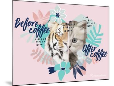 Coffee Cat-Rachael Hale-Mounted Photo