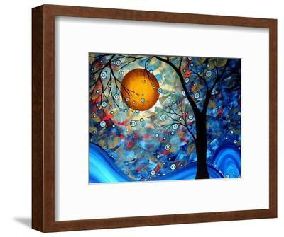 Blue Essence-Megan Aroon Duncanson-Framed Art Print