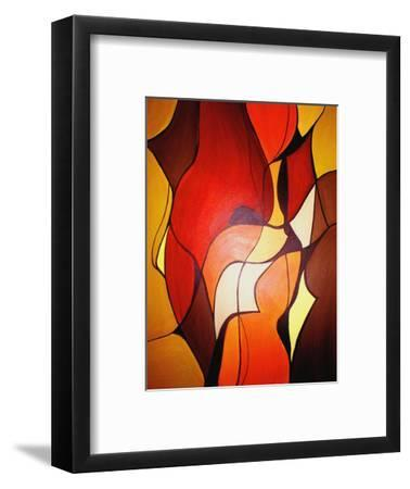 Meeting In The Middle 2007 II-Ruth Palmer-Framed Art Print