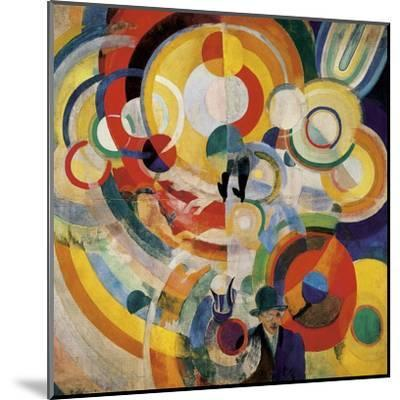 Carousel with Pigs-Robert Delaunay-Mounted Art Print