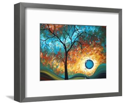 Aqua Burn-Megan Aroon Duncanson-Framed Art Print