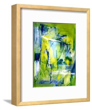 Psalm 33:6 & 7-Ruth Palmer 3-Framed Art Print