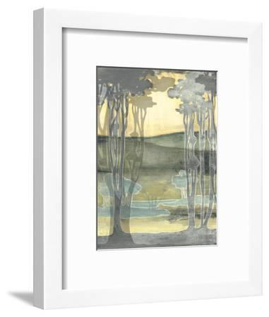 Small Nouveau Landscape I-Jennifer Goldberger-Framed Art Print