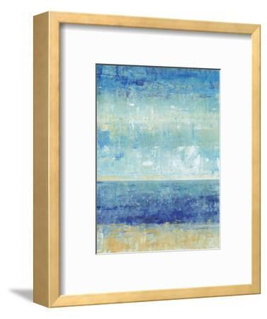 Beach Horizon II-Tim O'toole-Framed Art Print