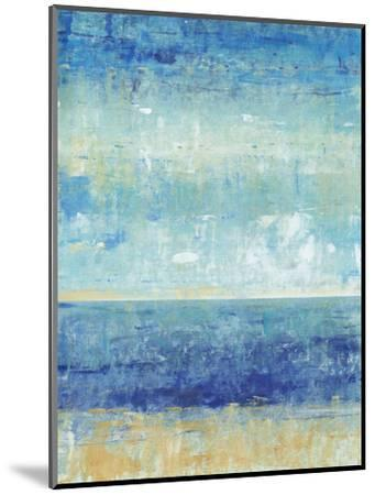 Beach Horizon II-Tim O'toole-Mounted Art Print