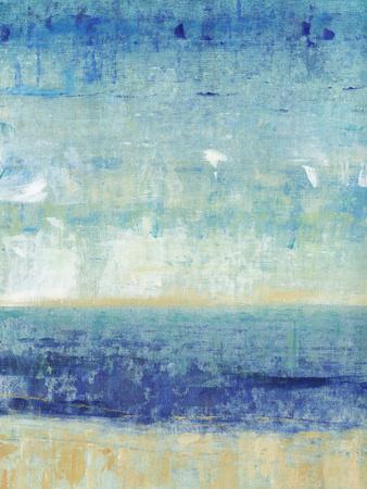 Beach Horizon I-Tim O'toole-Art Print