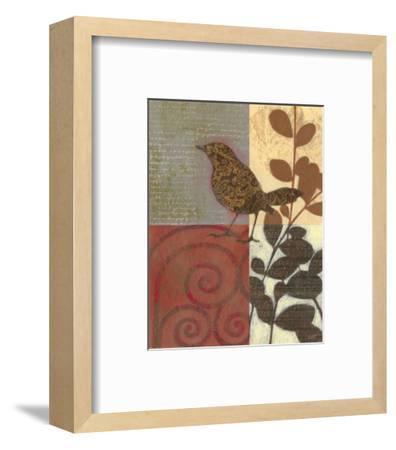 Paisley Sparrow-Norman Wyatt Jr^-Framed Art Print