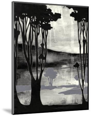 Nouveau Landscape II-Jennifer Goldberger-Mounted Art Print