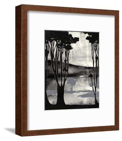 Nouveau Landscape II-Jennifer Goldberger-Framed Art Print