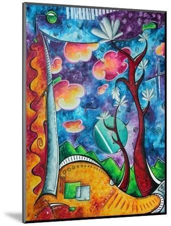 Abstract Colorful Landscape PoP Art-Megan Aroon Duncanson-Mounted Art Print