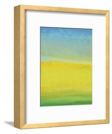 The Land In Between-Jan Weiss-Framed Art Print