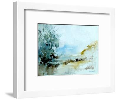 Watercolor 240405-Pol Ledent-Framed Art Print