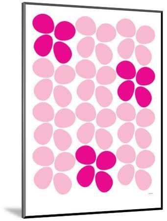 Pink Flowers-Avalisa-Mounted Art Print