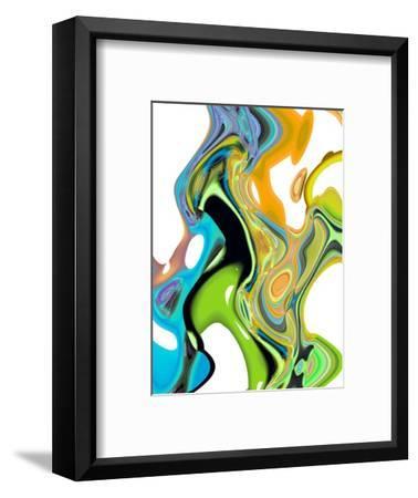 Citrus And Aqua II-Ruth Palmer-Framed Art Print
