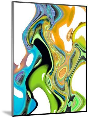 Citrus And Aqua II-Ruth Palmer-Mounted Art Print
