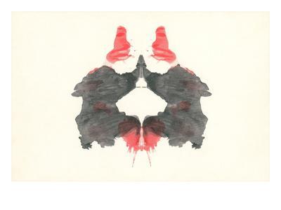 Rorschach Test Pattern--Art Print