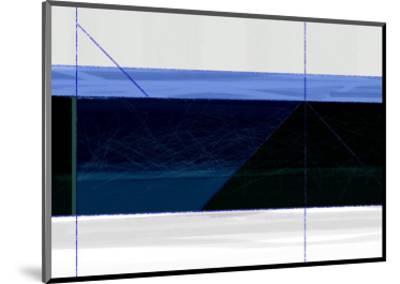 Deep Blue-NaxArt-Mounted Art Print