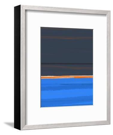 Stripe Orange-NaxArt-Framed Art Print
