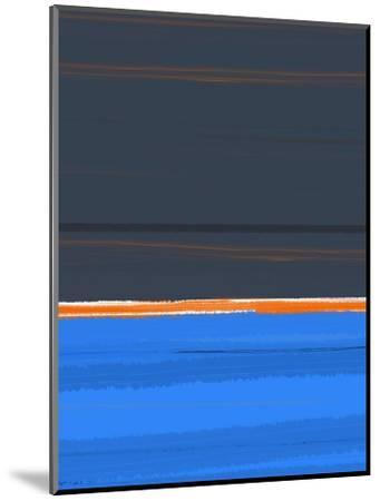 Stripe Orange-NaxArt-Mounted Art Print